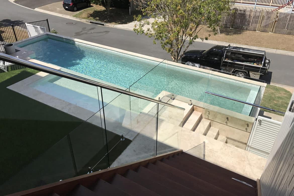 Glass Pool Fencing Brisbane03