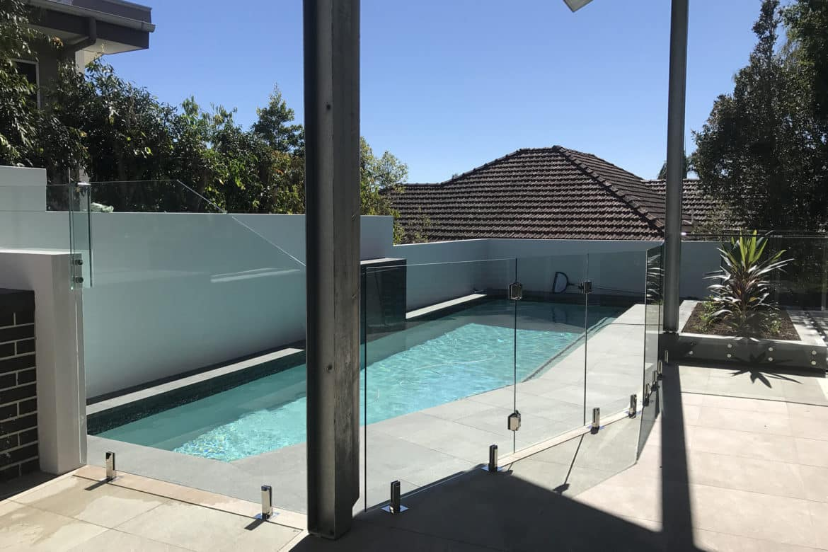 Glass Pool Fencing Brisbane70