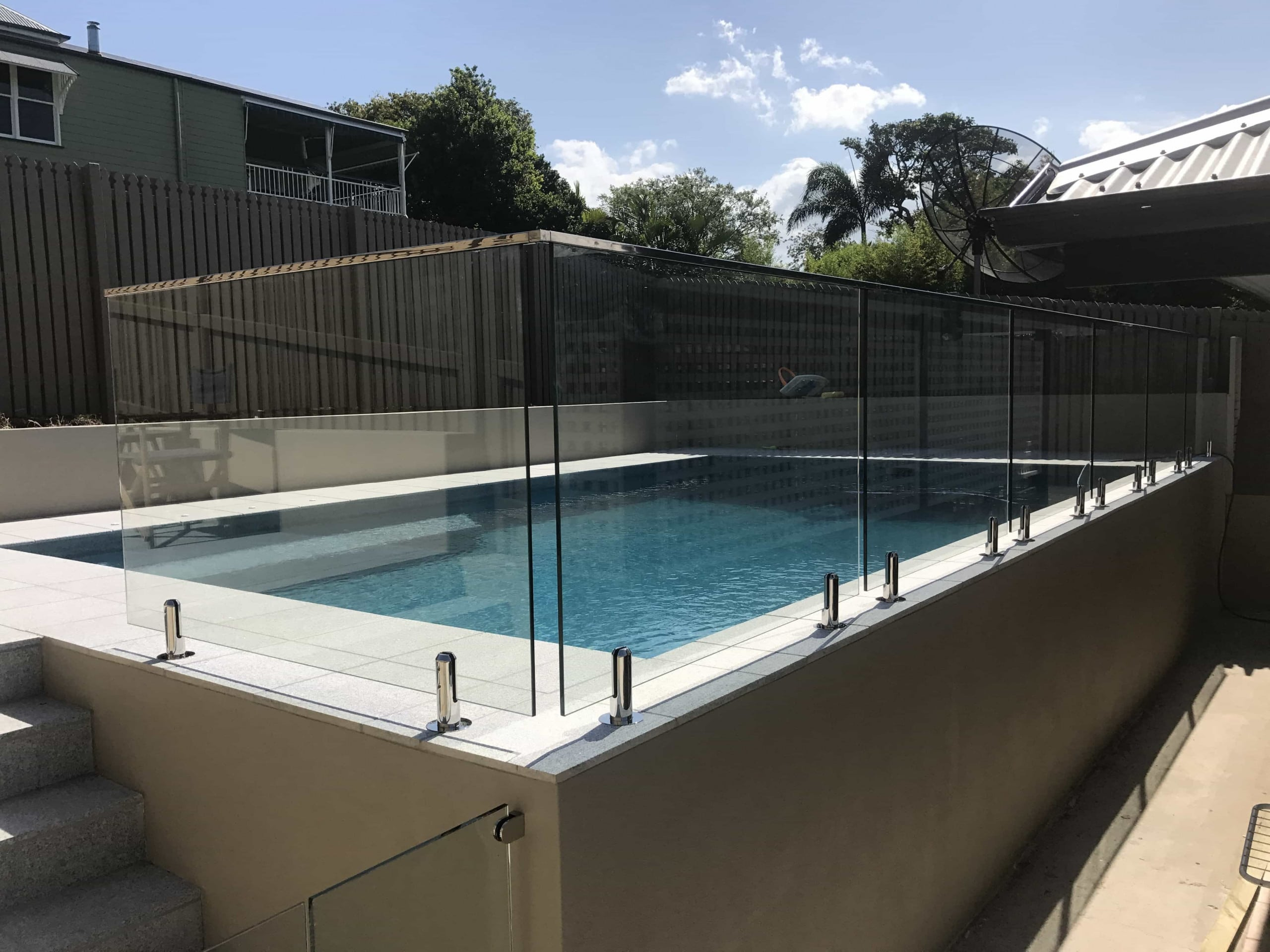 How Safe is Glass Pool Fencing? - ALS Glass Works