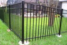 Aluminium Fencing 1